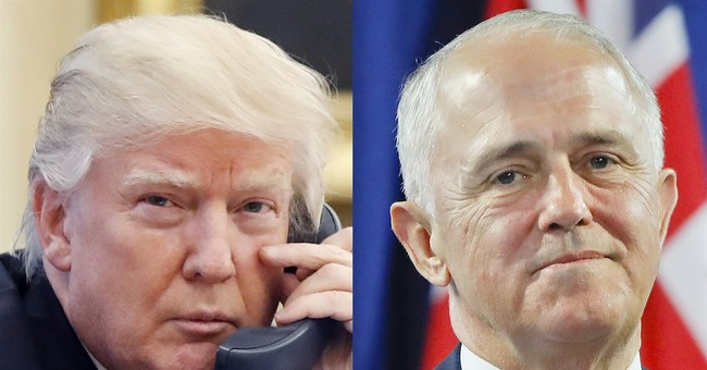 Australian prime minister says he 'channels' Trump in speech