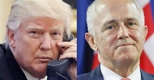 Australian prime minister says he 'channels' Trump in speech