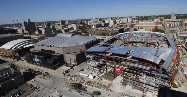 Bucks' arena workers stretch, bend before hitting job