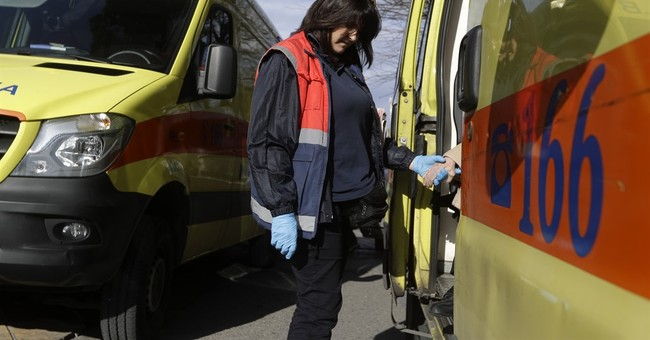 AP PHOTOS: Greek ambulance service feels pinch of austerity