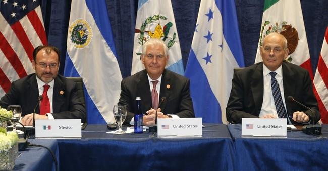 US, Central America discuss migrants, drugs and economic aid