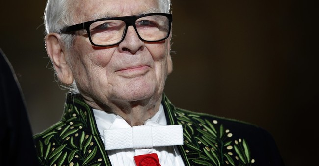 Designer Pierre Cardin skips US fashion show after accident