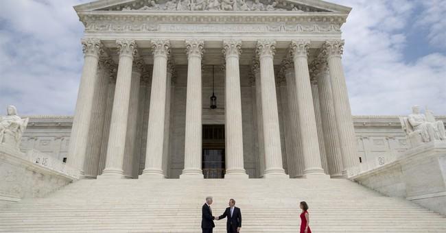 Trump attends Gorsuch's Supreme Court ceremony