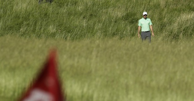 US Golf Open: Stacked leaderboard after two-rounds leaves tournament wide open