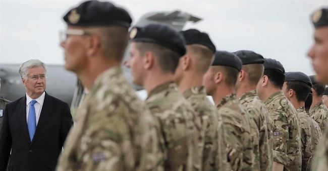 British defense minister: Russian aggression to NATO growing