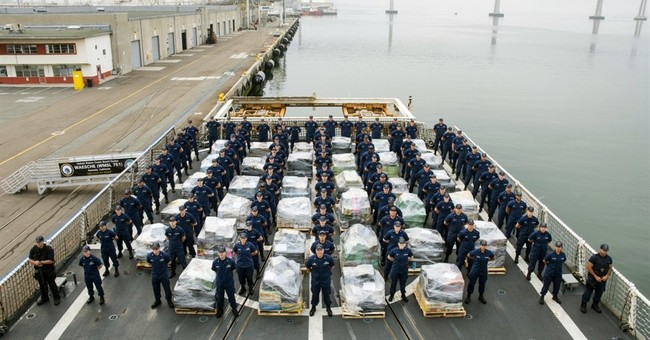 Coast Guard brings 18 tons of seized cocaine to San Diego