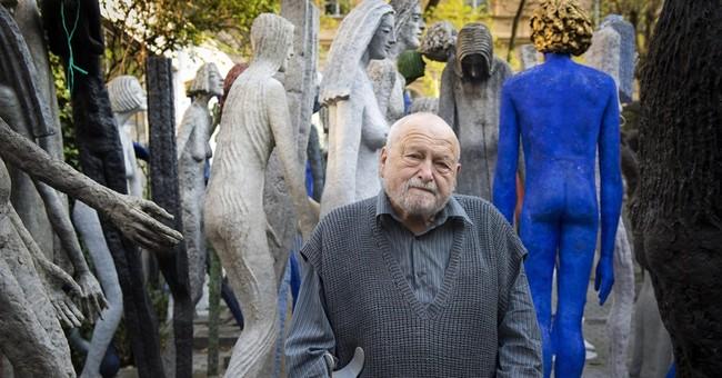 Czech sculptor Olbram Zoubek dies at age 91
