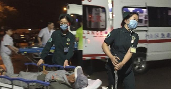 China police: Bomb behind kindergarten blast; suspect dead