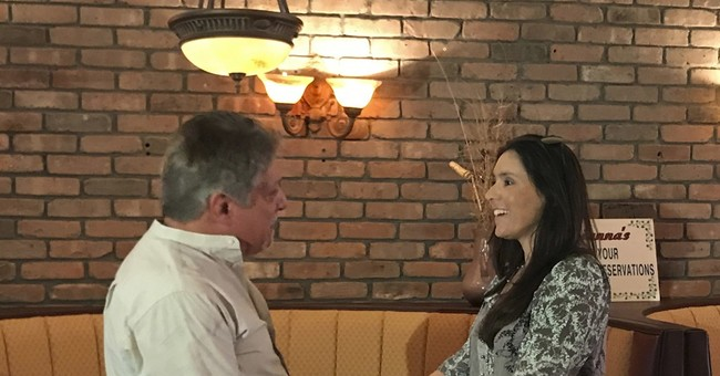 After 40 years, father and daughter meet for the 1st time