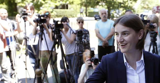 Serbia's first gay PM-designate honored by nomination