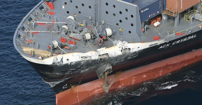 7 Navy crew missing, skipper hurt after collision off Japan