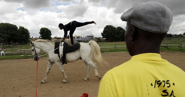 Trailblazing South Africa equestrian turns to new generation