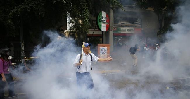 Brazilian sale of tear gas angers Venezuela opposition