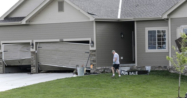 Storms shatter homes, down trees in Nebraska and Iowa