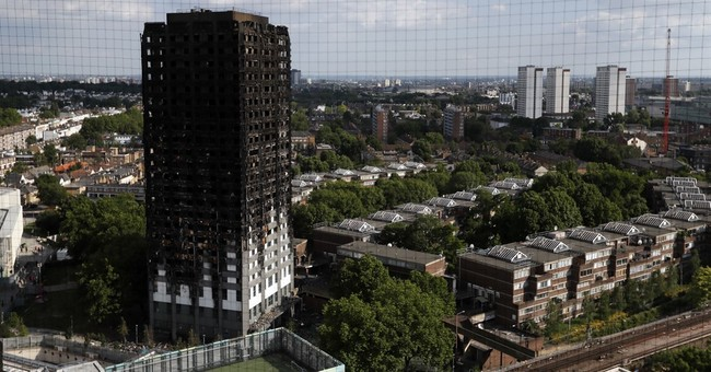Insulating skin on high-rises has fueled fires before London
