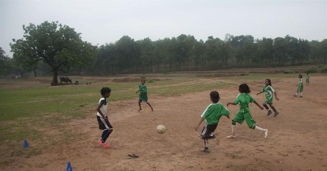 Rural Indian girls get discrimination-fighting tool: soccer