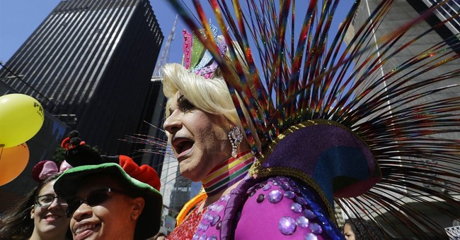 Hundreds of thousands at Brazil gay parade, 1 of biggest