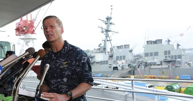 The Latest: US Navy chief promises full probe of collision