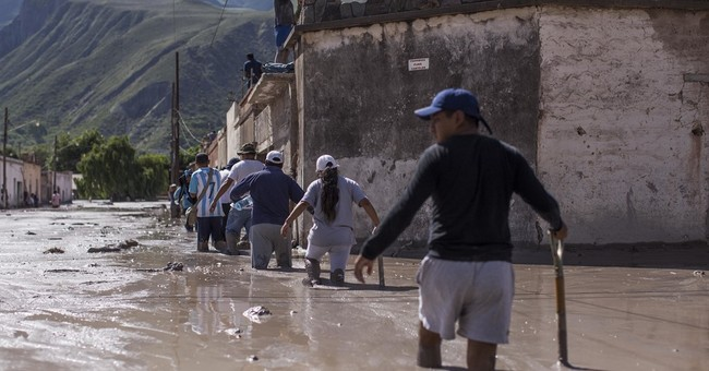 AP PHOTOS: Argentine town digs out after mammoth mudslide