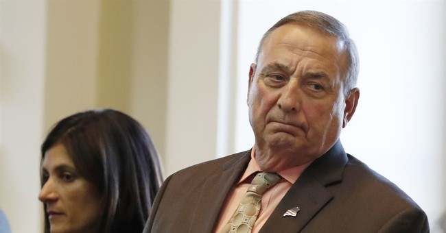 Maine governor won't apologize for criticizing US Rep. Lewis