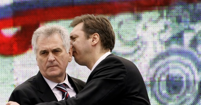 Serbian pro-Russian president slams outgoing US government