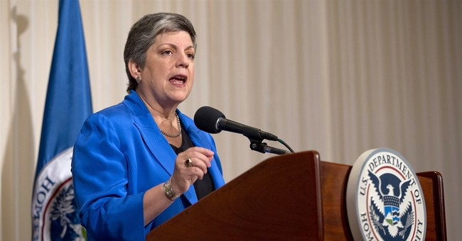 Janet Napolitano in hospital with side effect of cancer care