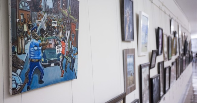 Artwork depicting Ferguson removed from Capitol display