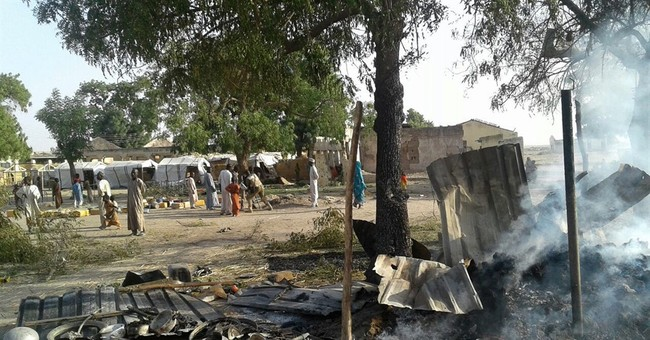 Boko Haram attacks camp bombed by Nigeria's air force