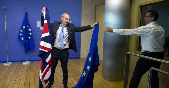 Talks on British exit from European Union  begin in Brussels