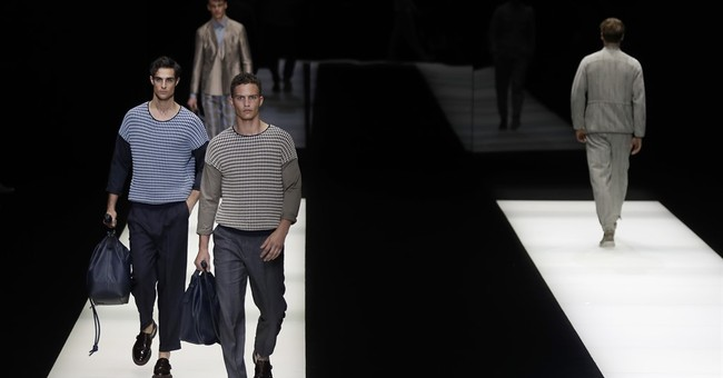 Fashion every which way at abbreviated Milan Fashion Week