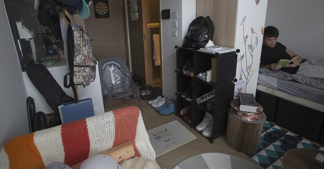 Hong Kong's mini apartments boom as property prices soar