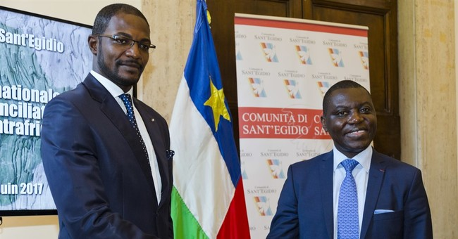 Central African Republic, armed groups sign deal in Rome