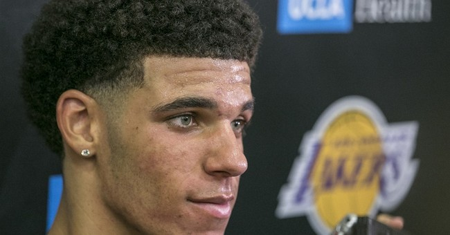 Lonzo Ball's draft stock stays strong with Lakers watching