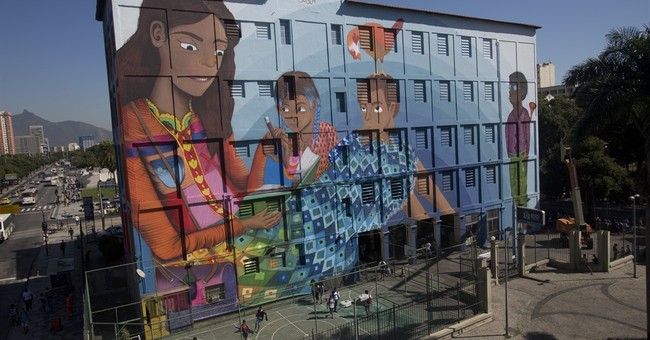 Guinness Records to check newly unveiled Brazil graffiti