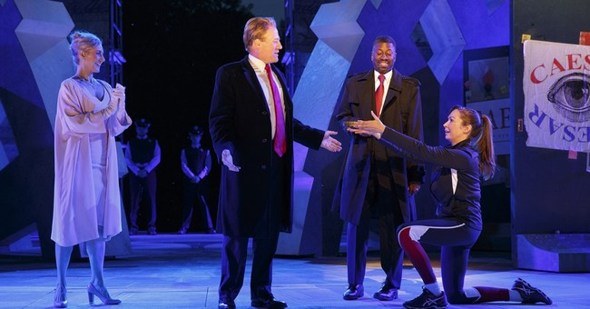 Angry at Trump-like Caesar, emailers insult wrong theater