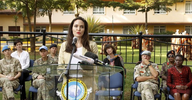 Envoy Angelina Jolie urges better treatment of refugees