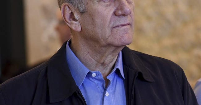 Jailed ex-Israel PM Olmert taken to hospital with chest pain