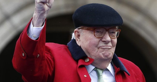 French far-right bars founder Jean-Marie Le Pen on birthday