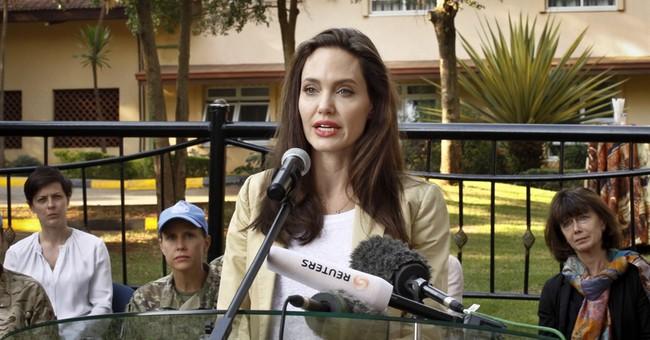 Envoy Angelina Jolie urges better treatment of refugees
