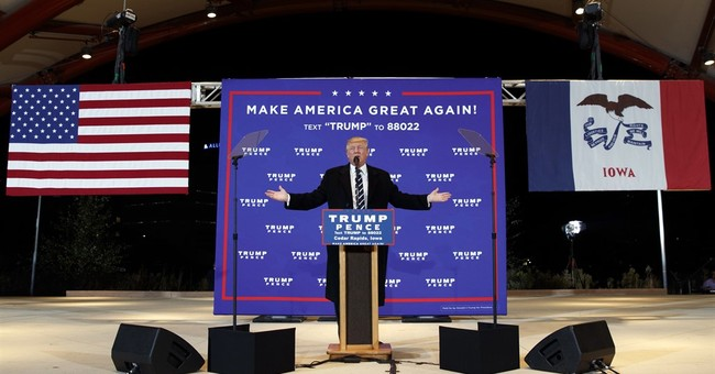 Back to Iowa, Trump faces some disgruntled independents