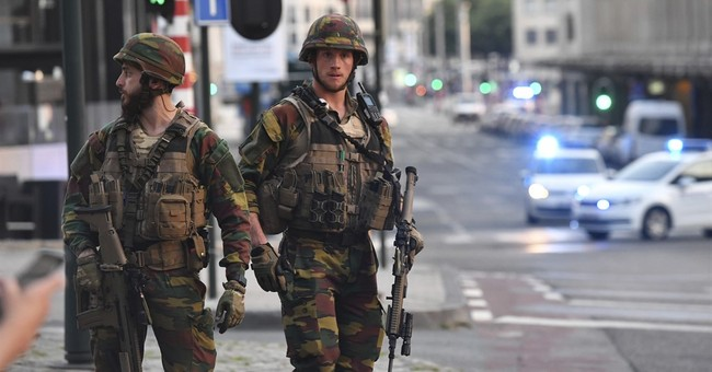 Brussels train station blast being treated as terror attack