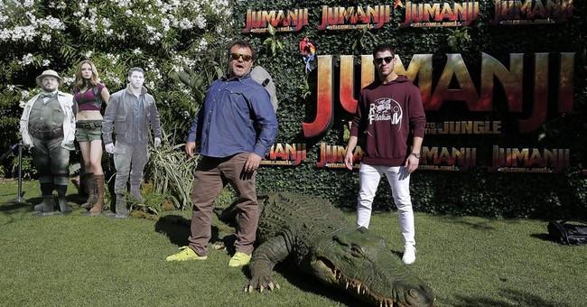 Stars of 'Jumanji' sequel pay tribute to Robin Williams