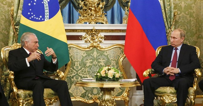 Leaders of Russia, Brazil agree to expand ties