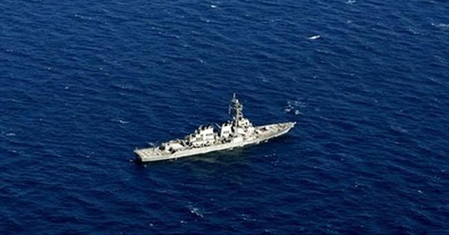 Investigators obtain data recorder in US warship collision