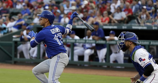 Blue Jays hold on for 7-5 win over Rangers after 6-run 1st