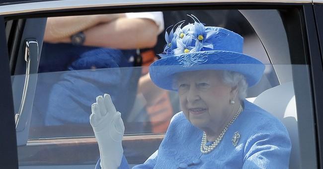 The Latest: Queen Elizabeth II mum about Trump visit