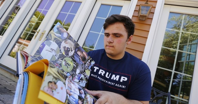 Trump thanks 2 whose yearbook references to him were altered