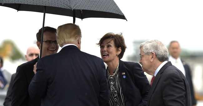 Trump checks out agriculture tech in Iowa