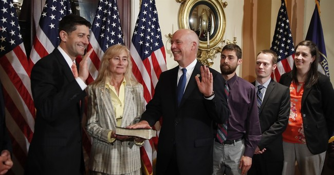The Latest: Montana Republican newest member of Congress