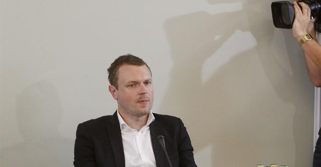 Son of EU Council head questioned over Polish financial scam